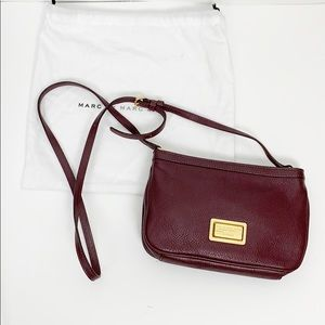 Marc by Marc Jacobs Percy Crossbody Wine Purple